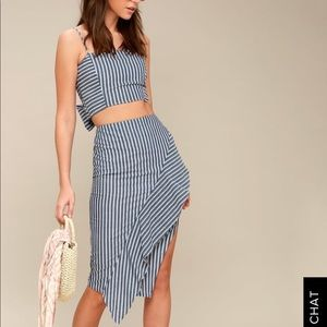 Two piece lulus set new with tags.